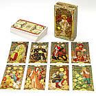 Карти Таро Золоте Таро Уейт Ар Нуво / Golden art nouveau tarot, фото 2