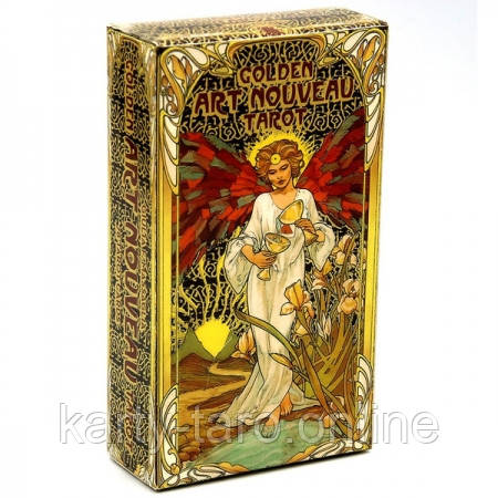 Карти Таро Золоте Таро Уейт Ар Нуво / Golden art nouveau tarot
