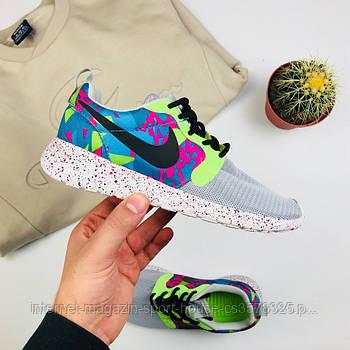 "Женские кроссовки Nike Roshe Run QS ""Gray"" (копия)"