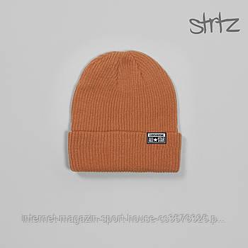 Шапка Converse оранжевого кольору (люкс копія)