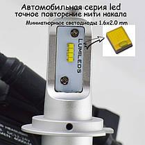 Комплект LED ламп в основные фонари серии G7 Цоколь Н7, 24W, 4000 Люмен/Комплект, фото 2