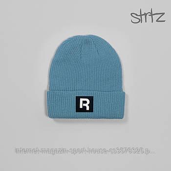 Шапка Reebok блакитний кольори (люкс копія)