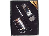 Подарочный набор APONS из 3-х предметов. Ручка+зажигалка+брелок алPN1-46