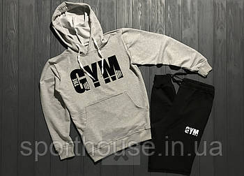 Мужской спортивный костюм Ворлд Джим (World Gym) толстовка и штаны (на любой сезон), реплика