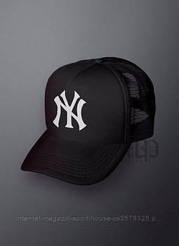 Спортивна кепка New York, Нью Йорк, тракер, річна кепка, унісекс, чорного кольору, копія