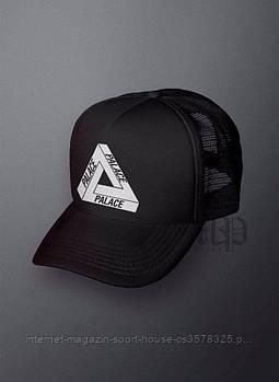 Спортивна кепка Palace, Палас, тракер, річна кепка, чоловічий, жіночий, чорного кольору,копія