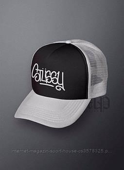 Спортивна кепка Palace, Палас, тракер, річна кепка, чоловіча, жіноча, сірого і чорного кольору,копія