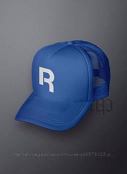 Спортивна кепка Reebok, Рібок, тракер, річна кепка, чоловіча, жіноча, синього кольору, копія