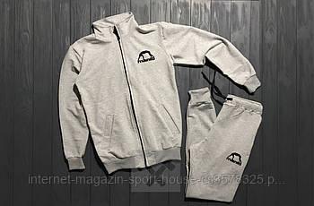Спортивний костюм manto сірого кольору (люкс копія)