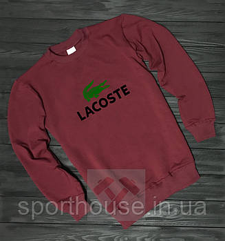 Мужской реглан спортивный Лакост (Lacoste), трикотажный (на любой сезон), реплика