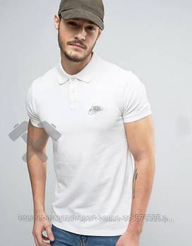 Поло Найк (Nike) чоловіче, теніска Найк, чоловіча футболка Найк, Турецький бавовна, копія