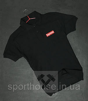 Поло Супрім (Supreme) чоловіче, теніска Супрім, чоловіча футболка Супрім, Турецький бавовна, копія