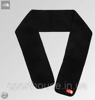 Теплий шарф The North Face чорного кольору (люкс копія)