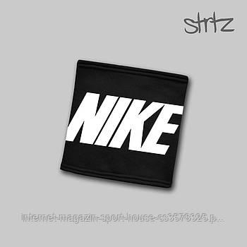 Теплий горловик Nike чорного кольору (люкс копія)