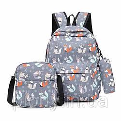 Женский набор сумок 3в1