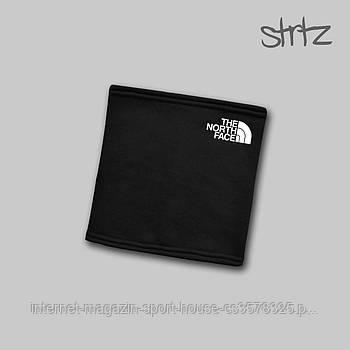 Теплий горловик The North Face чорного кольору (люкс копія)