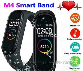 Фитнес трекер Mi Smart Band 4 смарт браслет черный (Black) Копия