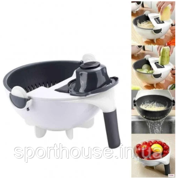 Овощерезка Wet Basket Vegetable Cutter 9 в 1 супер качество