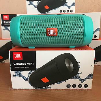 Портативна колонка JBL Charge 2+ MINI W2 - Bluetooth, FM, MP3 зелена копія