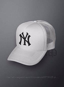 Спортивна кепка New York, Нью Йорк, тракер, річна кепка, унісекс, білого кольору, копія