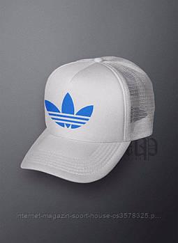 Спортивна кепка Adidas, Адідас, тракер, річна кепка, унісекс, білого кольору (копія)