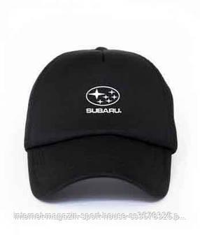 Спортивна кепка Subaru, Субару, тракер, річна кепка, чоловіча, жіноча, ,чорного кольору, копія