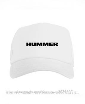 Спортивна кепка Hummer, Хаммер, тракер, річна кепка, чоловіча, жіноча, білого кольору, копія