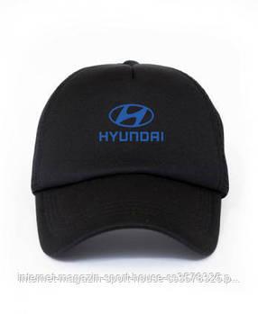 Спортивна кепка Hyundai, Хьюндай, тракер, річна кепка, чоловічий, жіночий, чорного кольору, копія