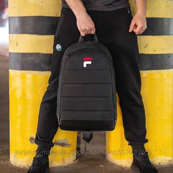 Спортивнюй рюкзак на каждый день Фила (Fila), унисекс, реплика