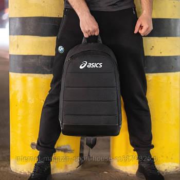 Спортивнюй рюкзак на каждый день Асикс (Asics), унисекс, реплика