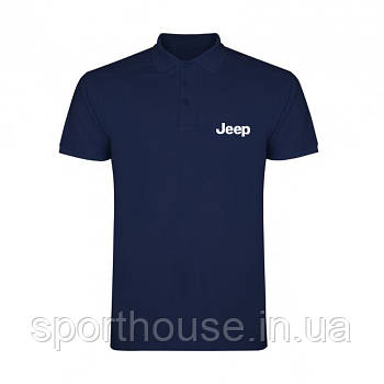 Поло Джип (Jeep) чоловіче, теніска Джип, чоловіча футболка Джип, Турецький бавовна, копія