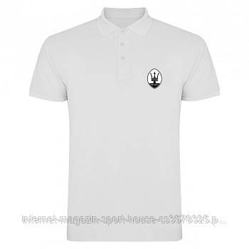 Поло Мазераті (Maserati) чоловіче, теніска Мазераті, чоловіча футболка Мазераті, Турецький бавовна, копія