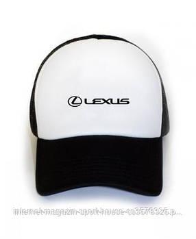Кепка тракер Лексус (Lexus) с сеткой сзади, реплика