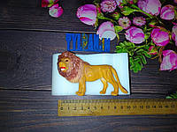 3 Д Молд силиконовый кондитерский для мастики шоколада изомальта лев 8* выс 5см