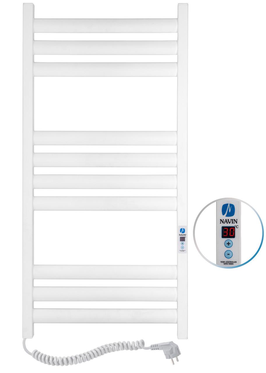 Полотенцесушитель Ellipse 500х1000 Digital левый (белый бархат) 12-845152-5010