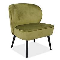 Кресло Vetro Mebel Фабио зеленый чай
