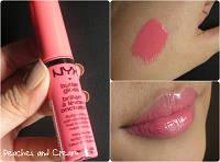 Масляный блеск для губ NYX Butter Lip Gloss 03 Peaches and Cream