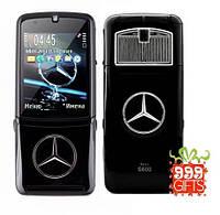 Мобильный телефон VERTU MERCEDES Benz S600 с флипом (Duos, 2 сим карты)