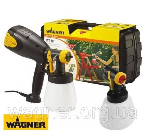 Бытовые электрические краскопульты Wagner W560 Set (Германия)