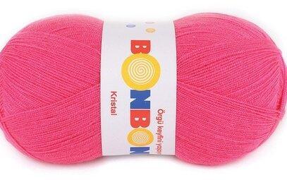Пряжа Крістал Бон-бон Kristal Bonbon Nako, №98319, рожевий