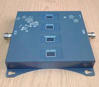 Чотирьохдіапазонний репітер підсилювач SST-2070-LGDW 4G LTE/3G/2G (850/900/1800/2100 МГц) c захистом мережі, 500-600 кв. м., фото 1