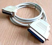 Кабель для підключення принтера через паралельний порт б/у, фото 1