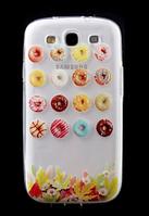 Силиконовый прозрачный чехол №16 для Samsung Galaxy S3 и S3 duos