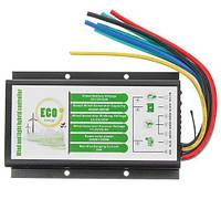 Гібридний контролер заряду акумуляторів від сонячних панелей 500/1000Вт і вітрогенераторів 400/800Вт 12/24В, фото 1