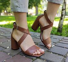 Босоножки на каблуке 8-9см