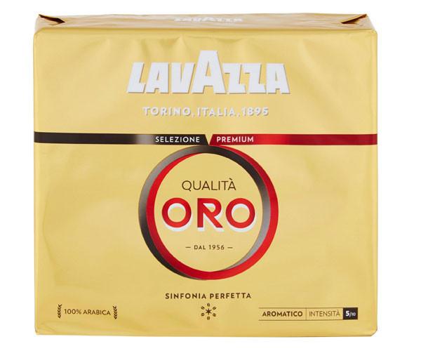 "Кофе Lavazza Qualita Oro молотый 2х250 г ""100% Арабика""  (100% Италия - Оригинал)"