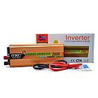 Перетворювач напруги DC/AC авто інвертор 2000Вт 12-220В SSK-2000W, фото 2