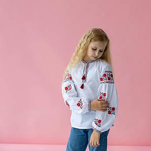 Блуза-сорочка для дівчинки Ніжні Трояндочки