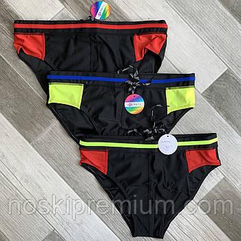 Плавки купальные мужские Paidi, 50-58 размер, чёрные, 9954