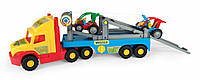 Игрушечный эвакуатор Wader Super Truck с авто-багги (36630)